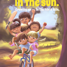 New children's book 'We Played In The Sun'.