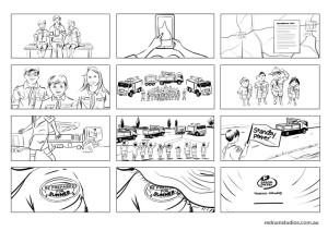 Ergon Energy storyboard