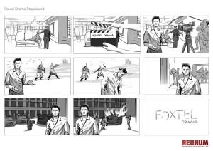 Foxtel Drama Storyboard