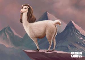 Angelina Jolie Llama – AAMI insurance