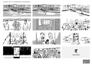 Telstra Gift Of Connection Storyboard 2
