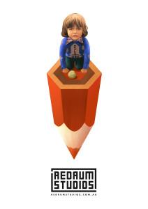 Redrum Pencil