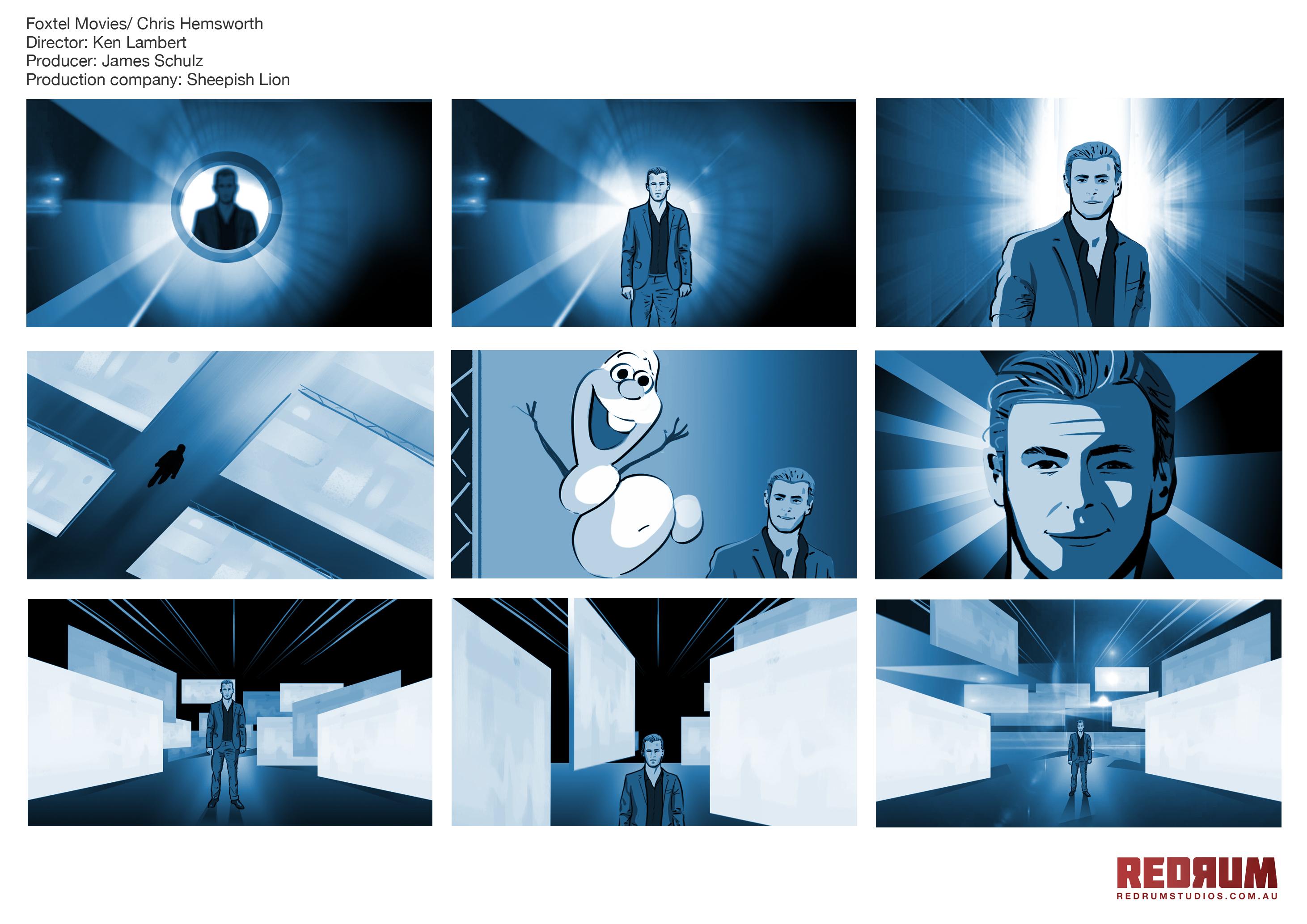Foxtel-Storyboard