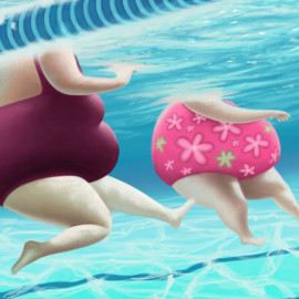 Women Bathers
