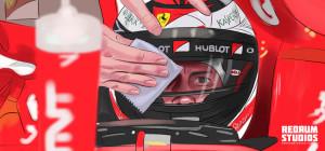 Formula One storyboard frame 2