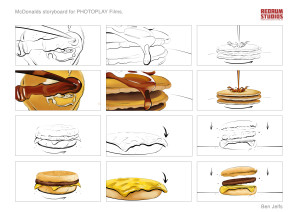 McDonalds storyboard