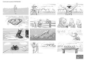 Continental Australia storyboard