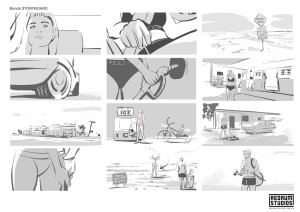 Bonds storyboard