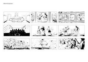 NRLW storyboard