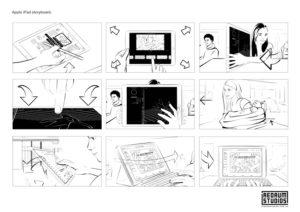 iPad storyboard