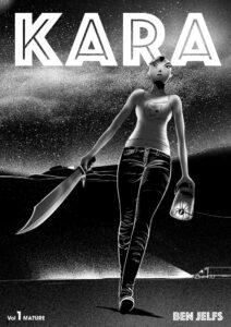 KARA #1 comic cover