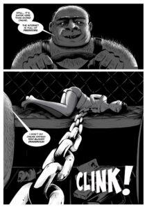 KARA #1 comic page 3